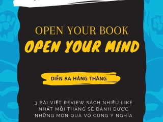 "NGS I.T PHÁT ĐỘNG CUỘC THI REVIEW SÁCH ""OPEN YOUR BOOK - OPEN YOUR MIND"""